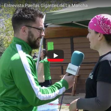 Entrevistamos a Paellas Gigantes de La Mancha – Real Sitio Cup 2018