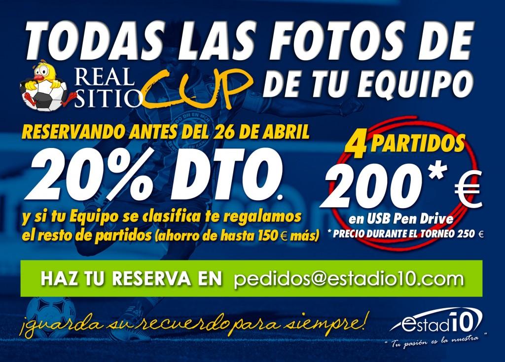 Pendrive fotos Real Sitio Cup