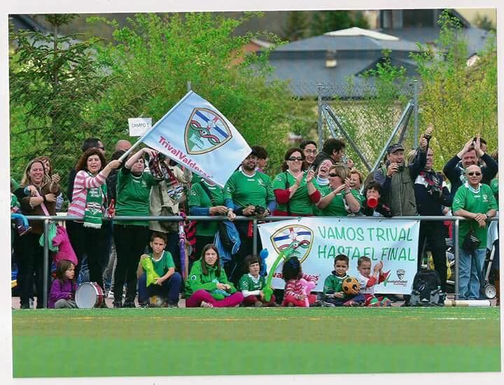 Trival Valderas afición Real Sitio Cup
