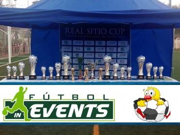 Estos serán los trofeos que se repartirán en la 9ª Edición de la Real Sitio Cup